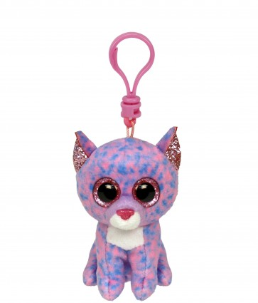Cassidy the Lavender Cat Clip Beanie Boo