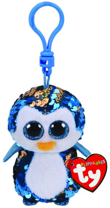 Beanie Boos Australia Payton The Blue Penguin Clip Flippable