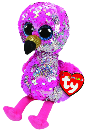 Pinky the Pink Flamingo Regular Flippable