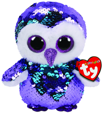 Moonlight the Purple Owl Regular Flippable