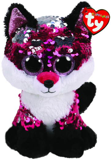 Jewel the Pink Fox Regular Flippable