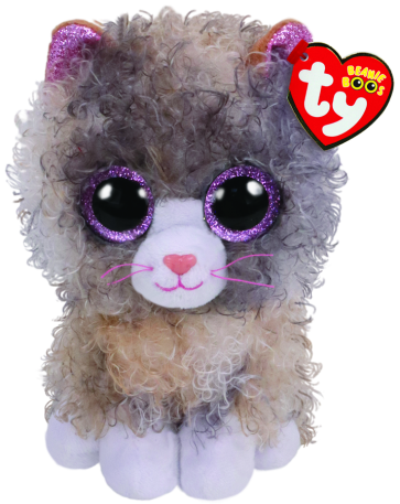 Scrappy the Grey Cat Regular Beanie Boo