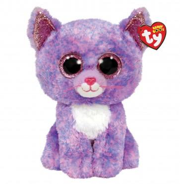 Cassidy the Lavendar Cat Medium Beanie Boo