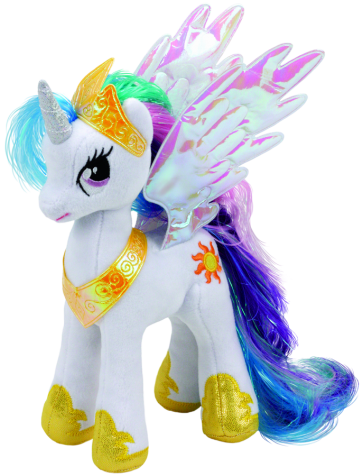 My Little Pony Princess Celestia Beanie Babies