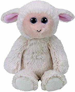 Rachel the White Lamb Attic Treasures Medium