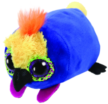 Diva the Multicoloured Parrot Teeny Tys