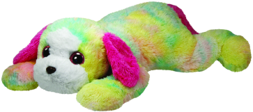 Classic TY Rainbow Yodel dog (xl)