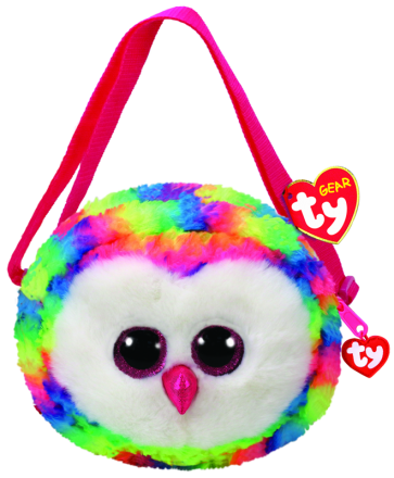 Owen the Multicoloured Owl (purse)