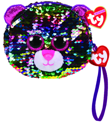 Dotty the Multicoloured Leopard Sequin Wristlet Ty Fashion
