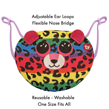 Dotty the Leopard Ty Mask