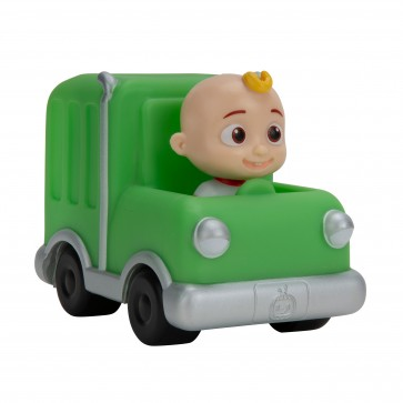 CoComelon Little Vehicles Green Trash Truck