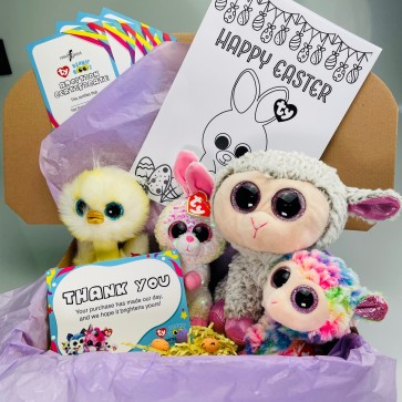 Ty Easter Beanie Boos & Flippables Bundle Shipping Included