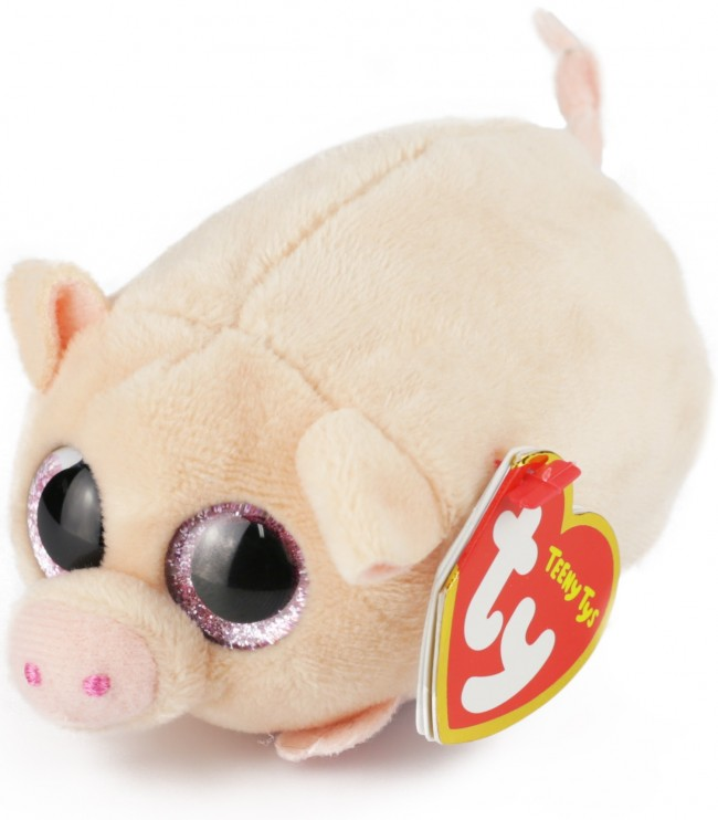35ec06d5573 Beanie Boos Australia - Curly the Tan Pig (Teeny Tys)
