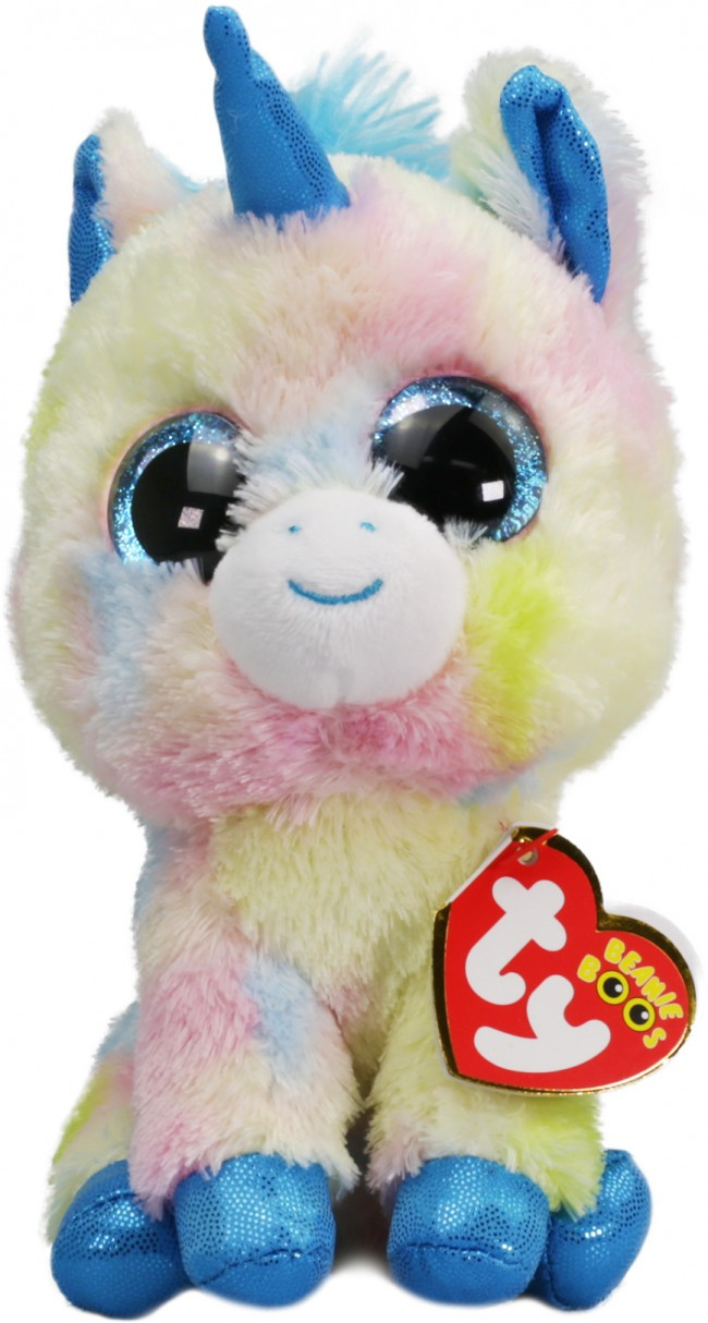 3e7483d87ea Beanie Boos Australia - Blitz the Blue Multicoloured Unicorn ...