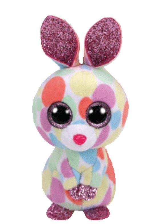 db764183930 Beanie Boos Australia - Bloomy the Pastel Easter Bunny Basket Beanies
