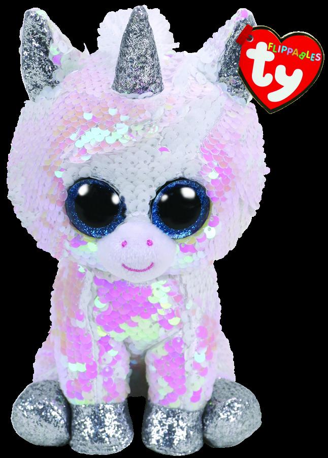 688bf90df42 Beanie Boos Australia - Diamond the White Unicorn Regular Flippable ...