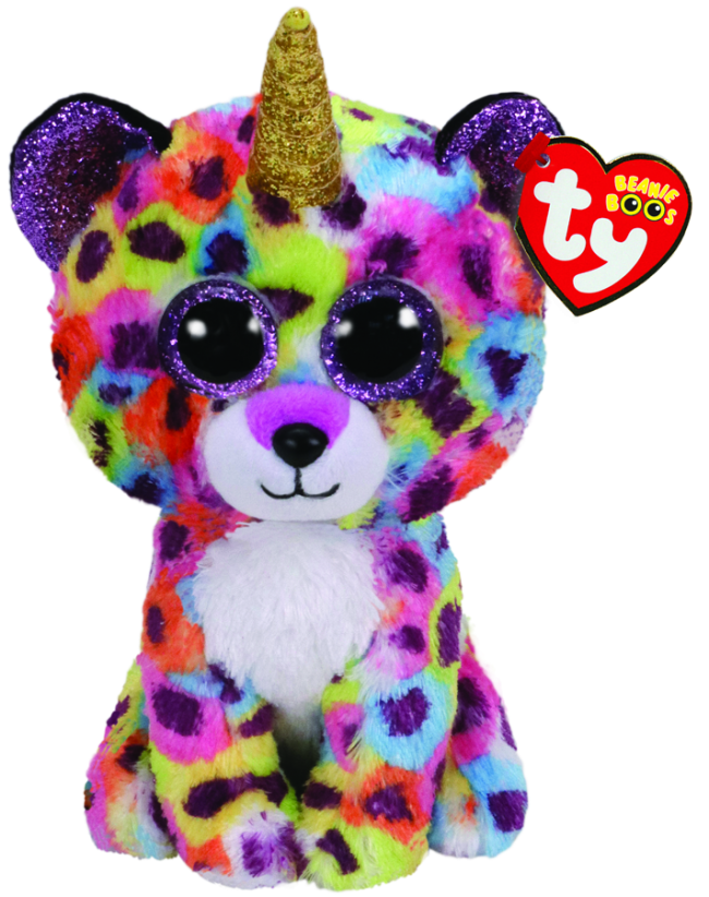 Beanie Boos Australia - Giselle the Multicoloured Leopard Regular ... c4e7ea6cdff6