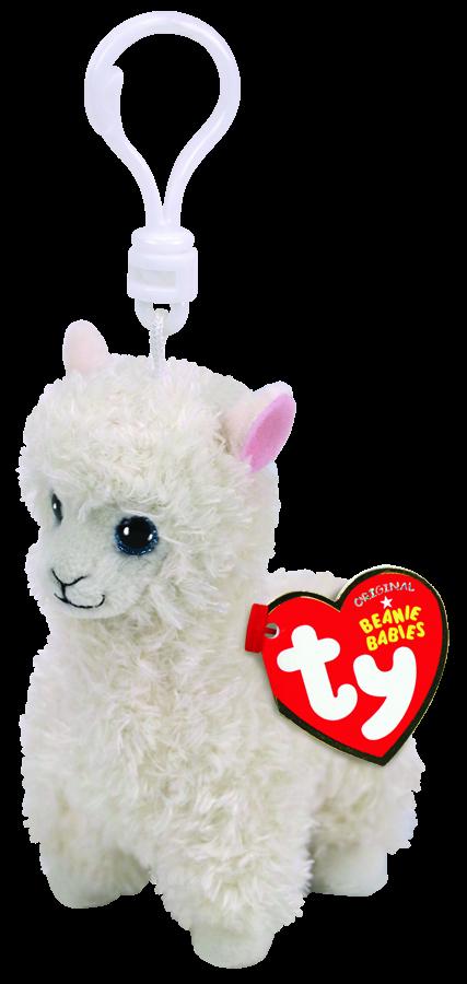 Beanie Boos Australia - Lily the Cream Llama Clip Beanie Babies eb33e4166e0