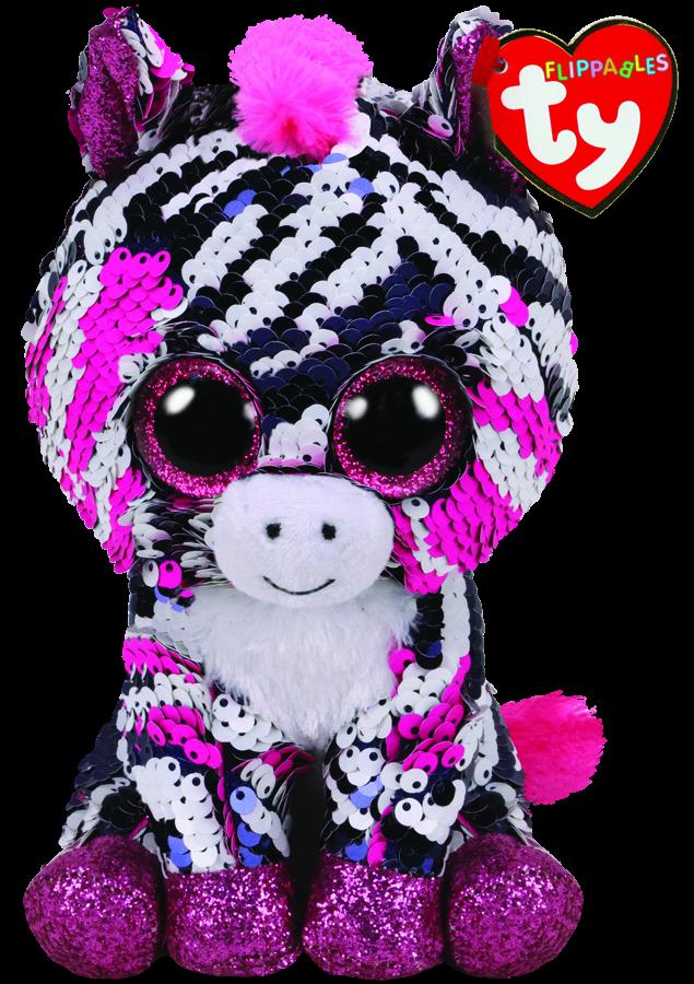 bc670ba780e Beanie Boos Australia - Zoey the Pink Zebra Regular Flippables