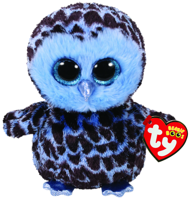 Beanie Boos Australia Yago The Blue Owl Regular