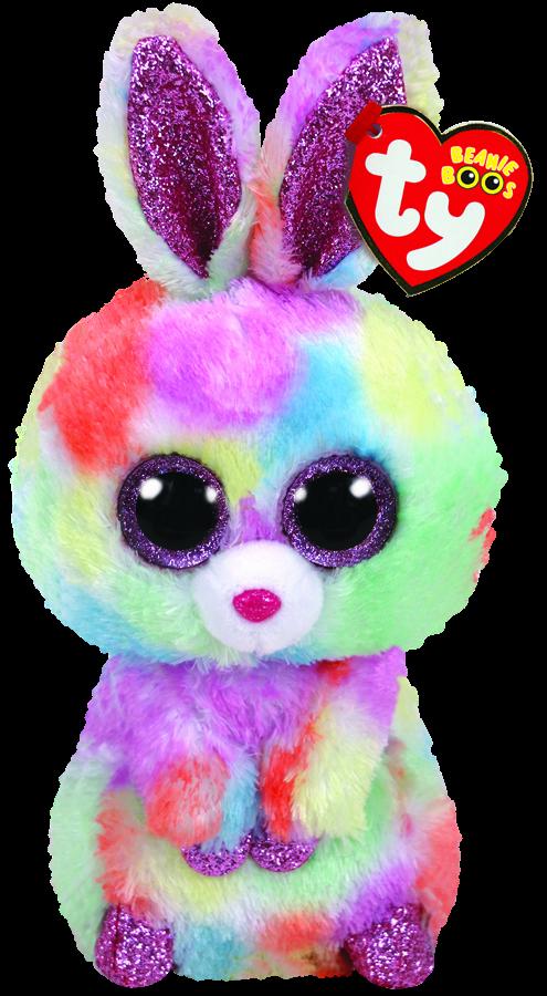 4c7bd5684ea Beanie Boos Australia - Bloomy the Pastel Easter Bunny Regular ...