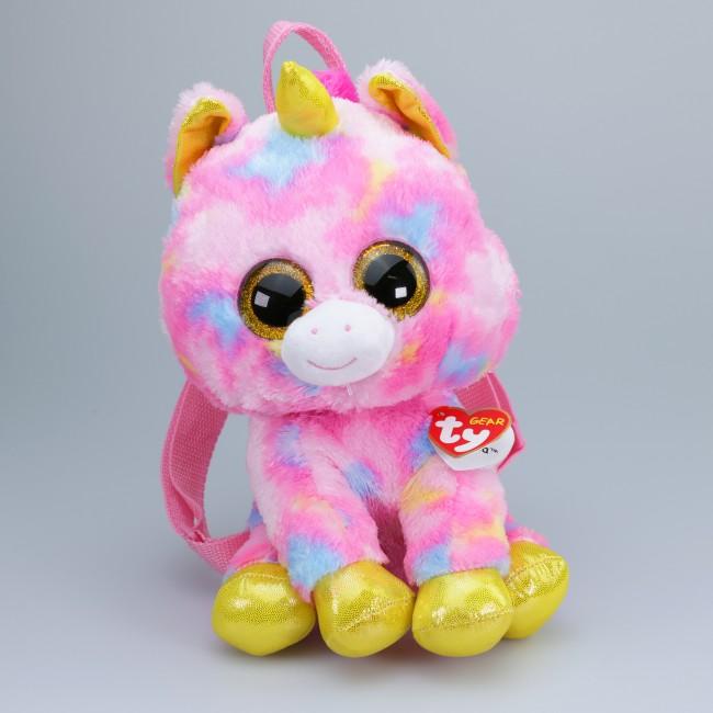 Beanie Boos Australia - Fantasia the Multicoloured Unicorn (backpack) 450bd1ae776
