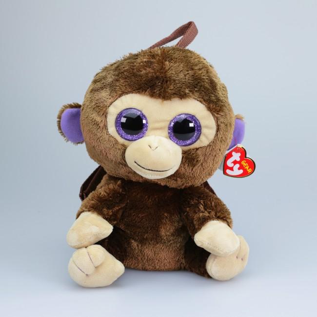 0aa9f1614b3 Beanie Boos Australia - Coconut the Brown Monkey (backpack)