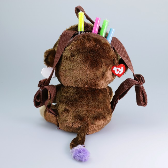 50be64b1787 Beanie Boos Australia - Coconut the Brown Monkey (backpack)