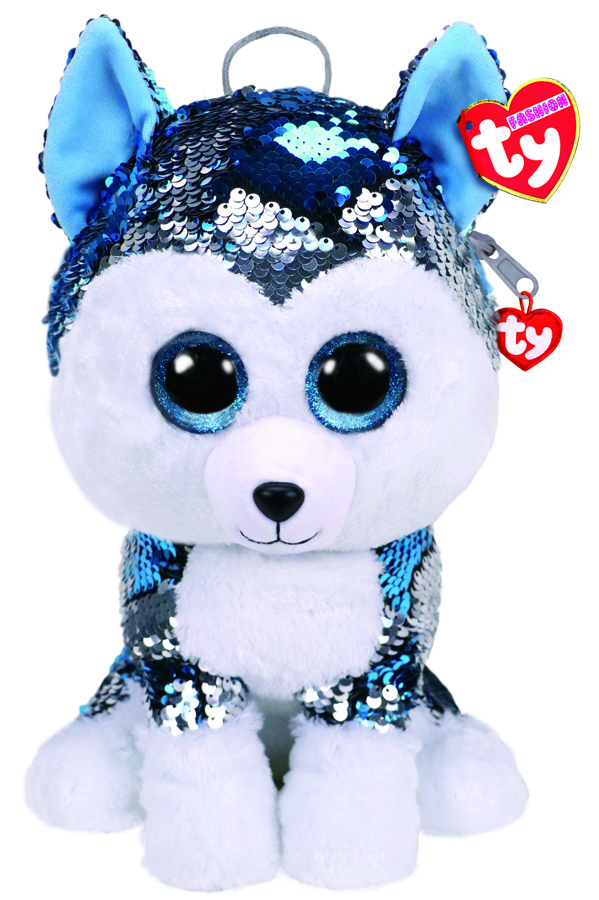 f423274af07 Beanie Boos Australia - Slush the Dog Sequin backpack Ty Fashion