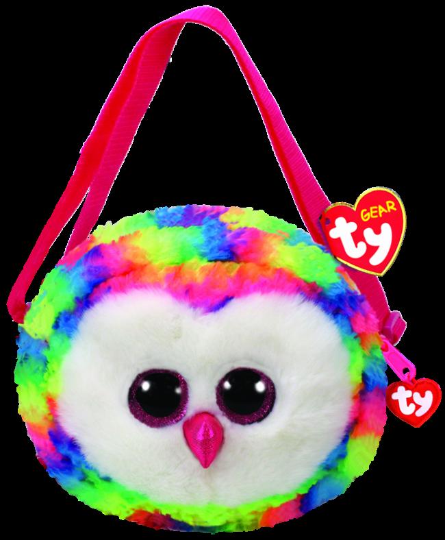 Beanie Boos Australia - Owen the Multicoloured Owl (purse) a751bc0f341a
