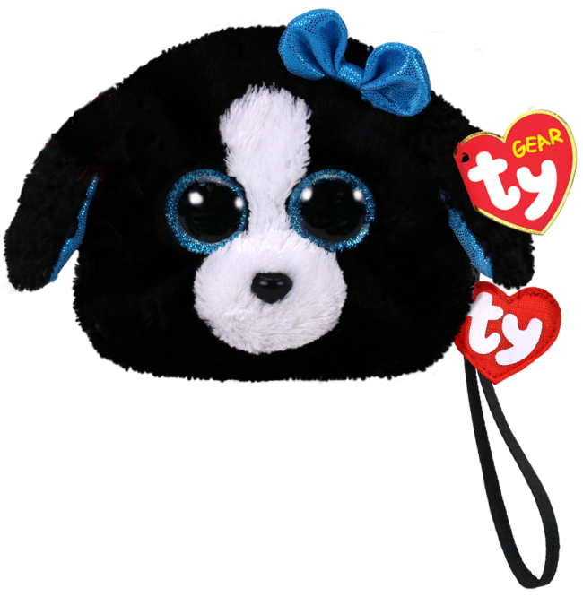 4e39f0fd4c3 Beanie Boos Australia - Tracey the Black Dog (wristlet)