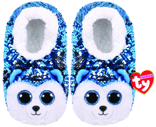 d67e053af96 Beanie Boos Australia - Slush the Dog Sequin Slippers Large - Ty ...