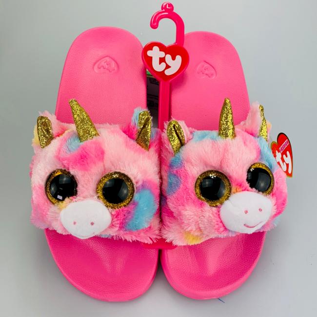 bd73169b7b3 Beanie Boos Australia - Fantasia the Multicoloured Unicorn Slides ...