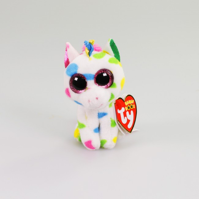9f2cb864363 Beanie Boos Australia - Harmonie the Speckled Unicorn (clip)