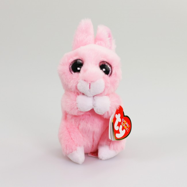 Beanie Boos Australia - Jasper the Pink Bunny Basket Beanies aa3491c81cd