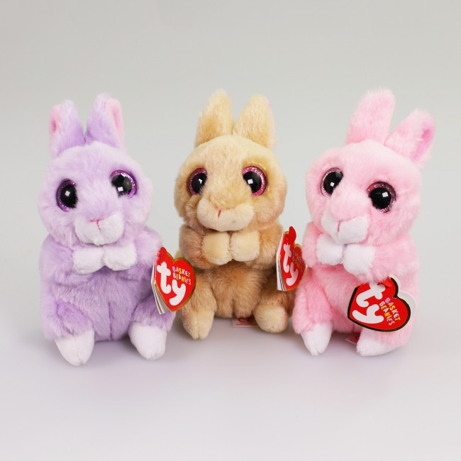 9ba1203c550 Beanie Boos Australia - Jasper the Pink Bunny Basket Beanies
