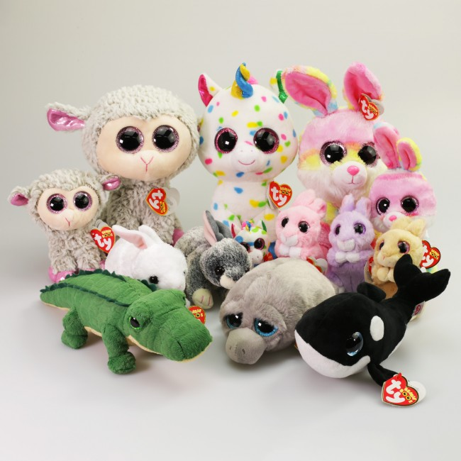 9d9dfc22b01 Beanie Boos Australia - Jasper the Pink Bunny Basket Beanies