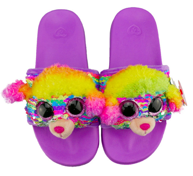 116e92a1b8e Beanie Boos Australia - Rainbow the Multicoloured Poodle Sequin ...