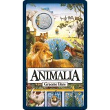 35th Anniversary of Animalia 2021 20c Coloured Uncirculated Coin
