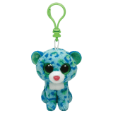 Leona the Blue & Green Leopard (clip)
