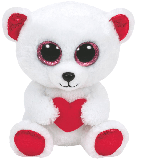 Cuddly Bear with a Heart