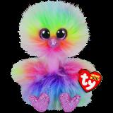 Asha the Pastel Ostrich Regular Beanie Boo 6c4f6e1e37d