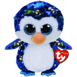 Payton the Blue Penguin Medium Flippable
