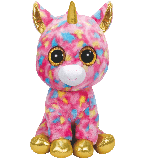 Fantasia the Multicoloured Unicorn XL Beanie Boo