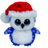 Icicles the Christmas Owl (medium)