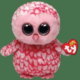Pinky the Pink Barn Owl (medium)