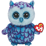 Oscar the Blue Owl (medium)