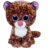 Patches the Tan Leopard (medium)