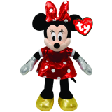 Minnie Mouse Sparkle Beanie Babies