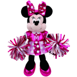 Minnie Mouse Cheerleader Sparkle Beanie Babies